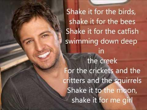 Luke Bryan- Country Girl (Shake It For Me) Lyrics