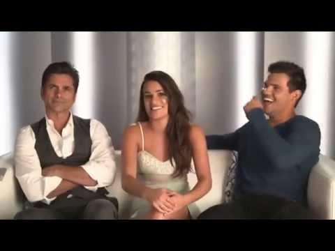 John Stamos, Lea Michele & Taylor Lautner talking about Season 2 of Scream Queens