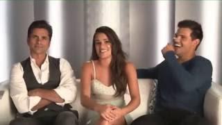 Scream Queens' facebook livestream including John Stamos, Lea Miche...