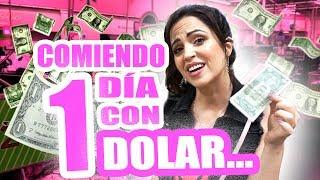 Comiendo 1 Día con SOLO 1 Dolar! Reto 24 Horas Pasando Hambre en USA - SandraCiresArt thumbnail