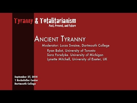 Tyranny & Totalitarianism Past, Present & Future:  The Past