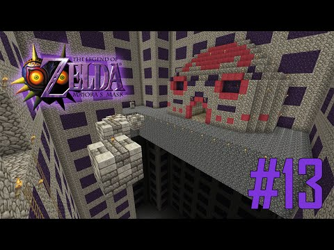 Majoras Mask Legend of Zelda Minecraft Adventure Map - Ep 13 w/Download