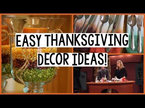 Thanksgiving Crafts | Easy Thanksgiving Decor Ideas