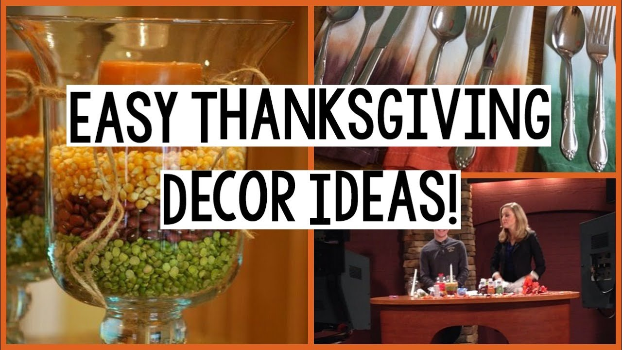 Thanksgiving Crafts | Easy Thanksgiving Decor Ideas   YouTube