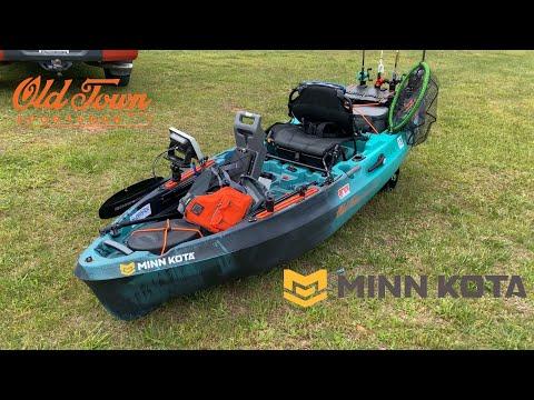Old Town Sportsman 106 Minn Kota   On the Water   1st Impressions