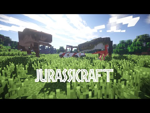 Jurassicraft Episode 50 - Fossils and Archaeology Dinosaur Renaissance Update!