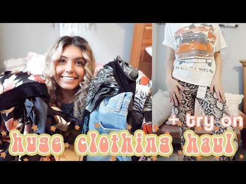 HUGE Clothing Haul & Try On | Forever21, ASOS, American Eagle, Zara, Fab'rik
