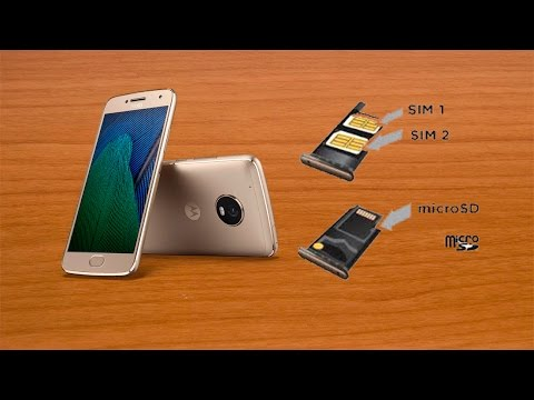 Moto G5 Sd Karte.Moto G5 Plus Memory Card Slot