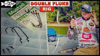 How to Rig the Donkey Rig (aka Double Fluke Rig) With Mark Rose