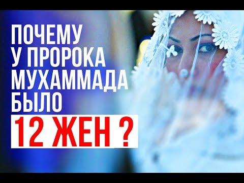 Почему у пророка Мухаммада было 12 ЖЕН?