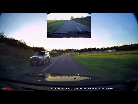 Kurze Testfahrt Mit Der ITracker Mini0906 Front + Heck Dashcam FullHD Mit CPL Filter