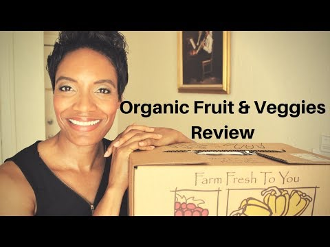 Vegan Life | Organic Fruit and Vegetables from Farm Fresh to You | Selena Thinking Out Loud