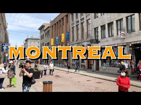 Montreal Quebec Canada Virtual Tour 4K