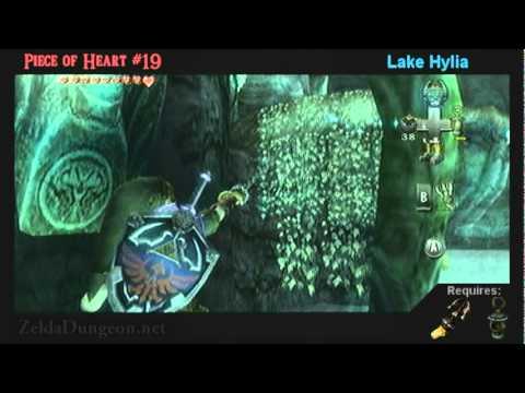 Legend Of Zelda Twilight Princess Pieces Of Heart Locations (Part 1 Of 2)