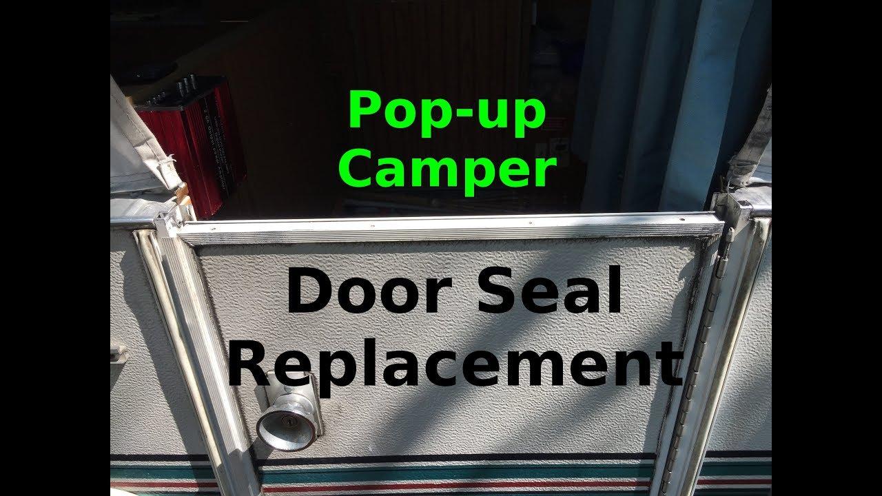 1996 Jayco 1206 pop up door seal replacement