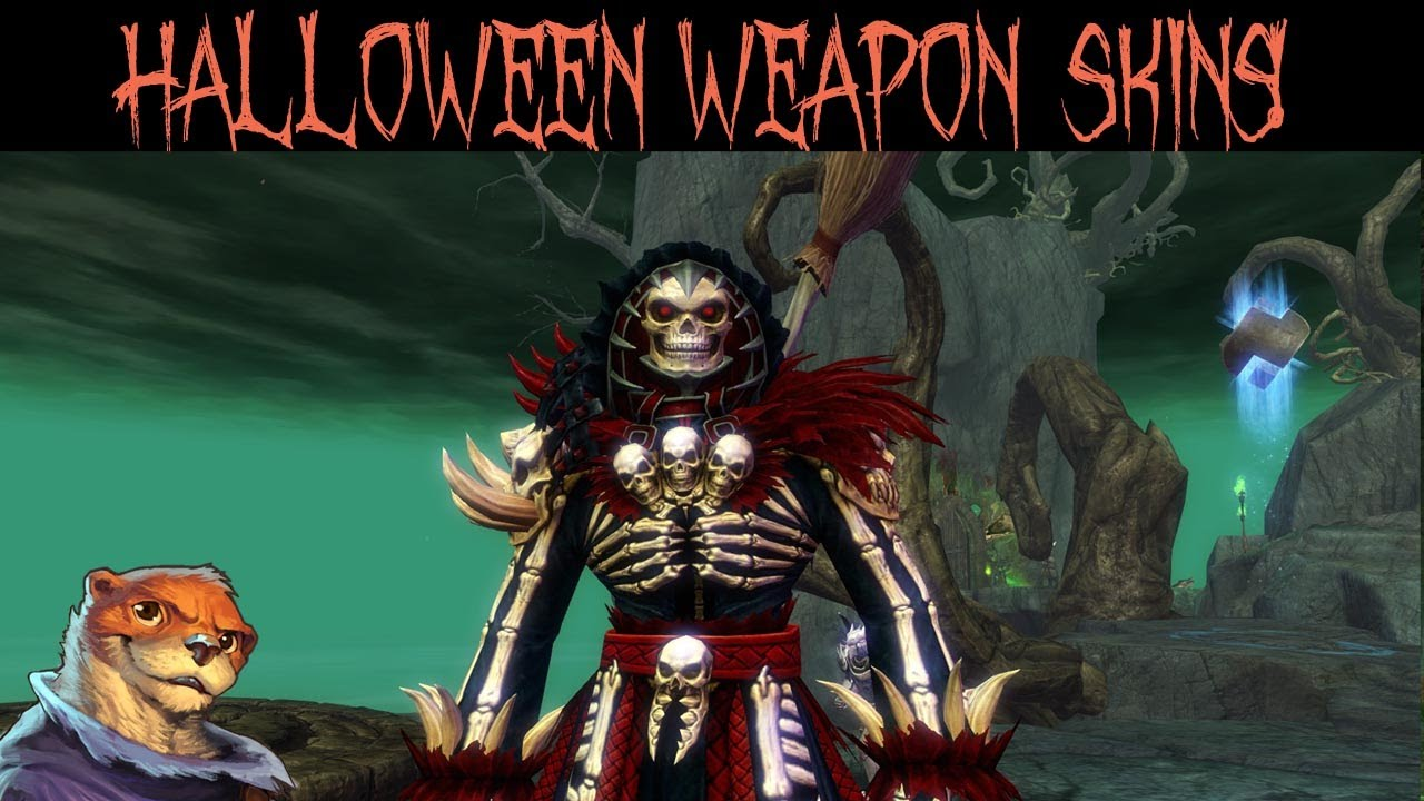 Blood & Madness Weapon Preview (Halloween skins) - Guild Wars 2 ...