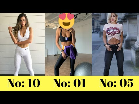 Top 10 Richest Instagram Fitness Models ( 2020 )