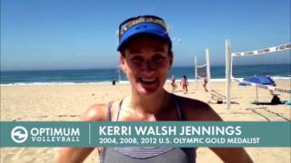 Kerri Walsh-Jennings and her thoughts on Optimum Volleyball