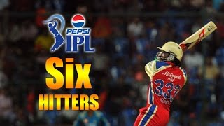 IPL : Top 10 Six Hitters in IPL (Indian Premier League)
