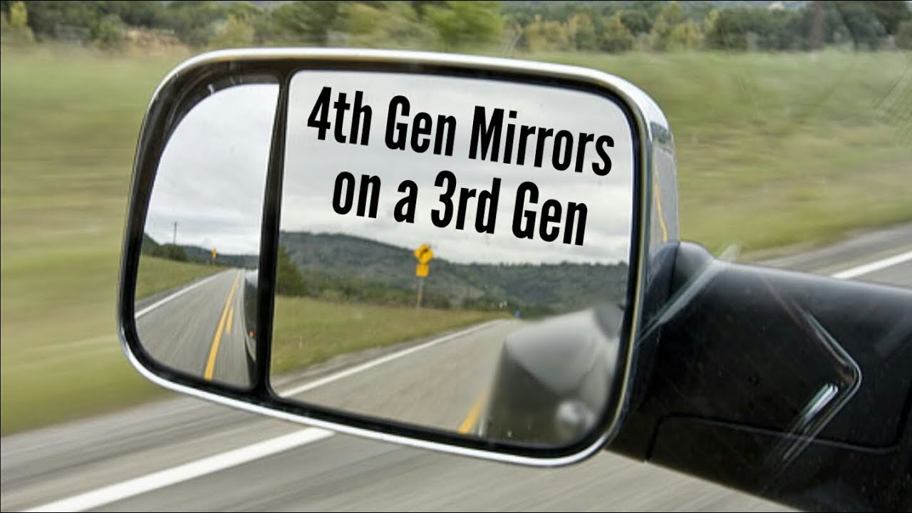 How to Install 4th Gen Tow Mirrors on a 3rd Gen Dodge Ram 2003-2008