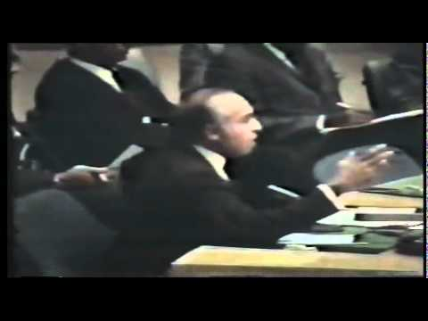 Historic Speech of Shaheed Zulfiqar Ali Bhutto at UN security Council 15 December 1971