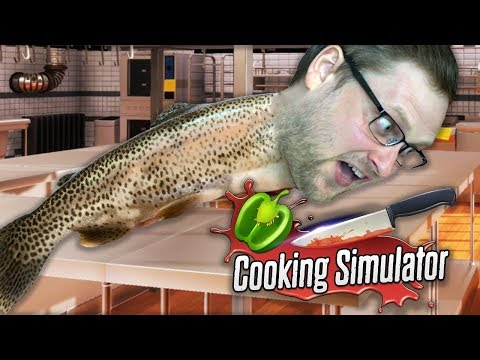 РЫБА УБЕЖАЛА ► Cooking Simulator #3