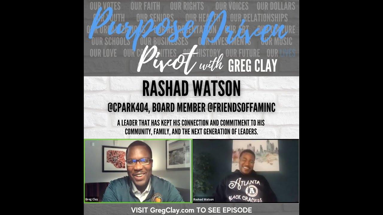 Purpose Driven Pivot , feat. Rashad Watson