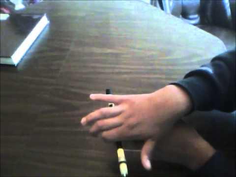 Pen Spinning: AntiGravity Tutorial