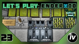 Let's Play Ender IO - Ep 23 - Enchants, Vat & Redstone Logic Filters