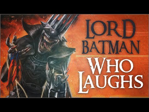 Lord Batman Who Laughs (Death Metal #1)