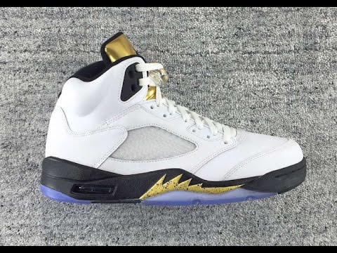 Air Jordan 5 Olympic Goes For The Gold