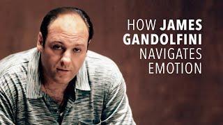 How James Gandolfini Navigates Emotion