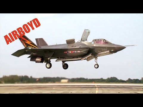 Royal Air Force F-35 Test Pilot Interview