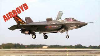 Royal Air Force F-35 Test Pilot Interview