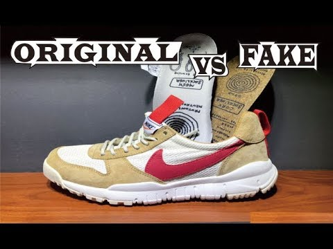 Lectura cuidadosa Leeds ecuación  Nike Craft Mars Yard Ts Nasa 2.0 Original & Fake - YouTube