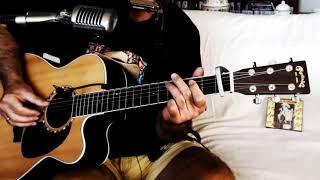 Move It On Over ~ Hank Williams Sr. ~ Cover w/ Martin JC-16RGTE & Bluesharp ~ Tribute