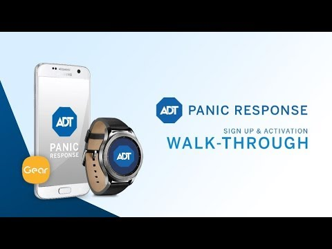 Setting up ADT Panic Response on Samsung Gear  sc 1 st  YouTube & Setting up ADT Panic Response on Samsung Gear - YouTube