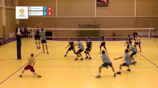 Baltijos tinklinio lyga: Flamingo Volley - SK Jekabpils Luši rungtynių apžvalga 2017-02-26