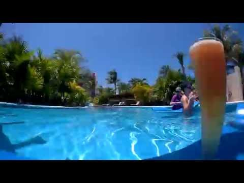 Lazy River - Exellence Playa Mujeres Mexico  Timelapse 02/08/2016