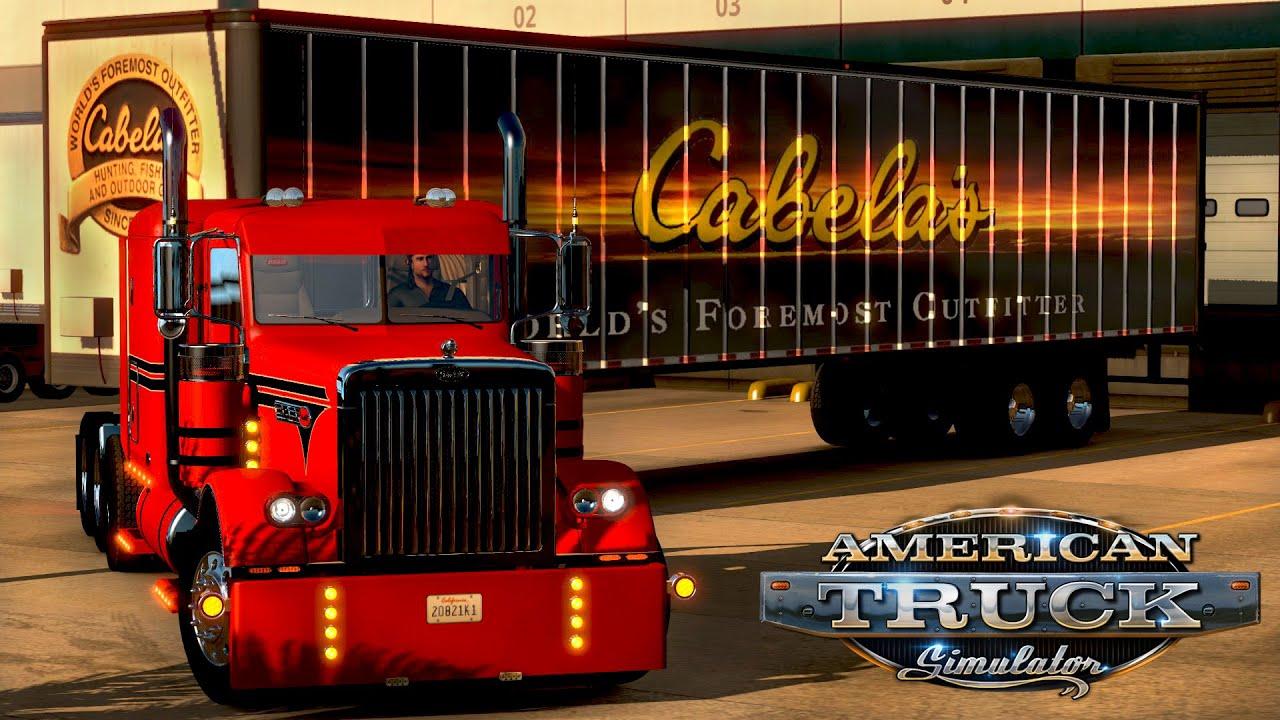 Cabelas El Paso Tx >> American Truck Simulator Cabela S Trailer From El Paso Tx To Phoenix Az