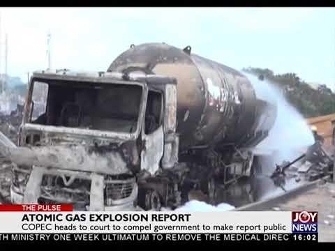 Atomic Gas Explosion Report - The Pulse on JoyNews (10-11-17)