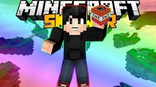 Cùng chơi Minecraft Solo Skywars #16   TNT BAY LÊN TRỜI w/Zeros