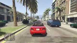 تختيم قراند 5 على سوني 4 Grand Theft Auto V5 Youtube