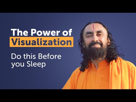 Do this Before you Sleep to Achieve Goals Faster - Power of Visualization by Swami Mukundananda