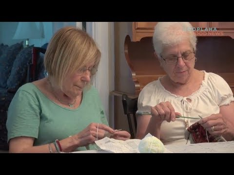 Knitting Group Stitches Together for the Community
