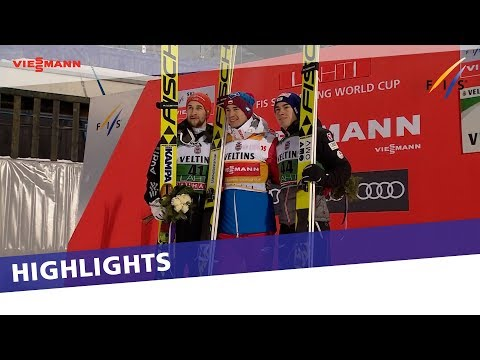 Dominant Kamil Stoch takes win in Lahti LH event | Highlights