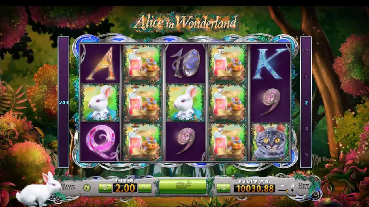 Free Alice In Wonderland Slot Machine Online