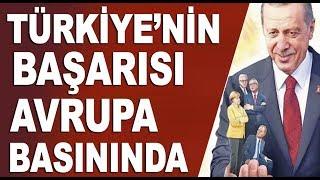 Avrupa medyası Cumhurbaşkanı Erdoğan'ı böyle resmetti!