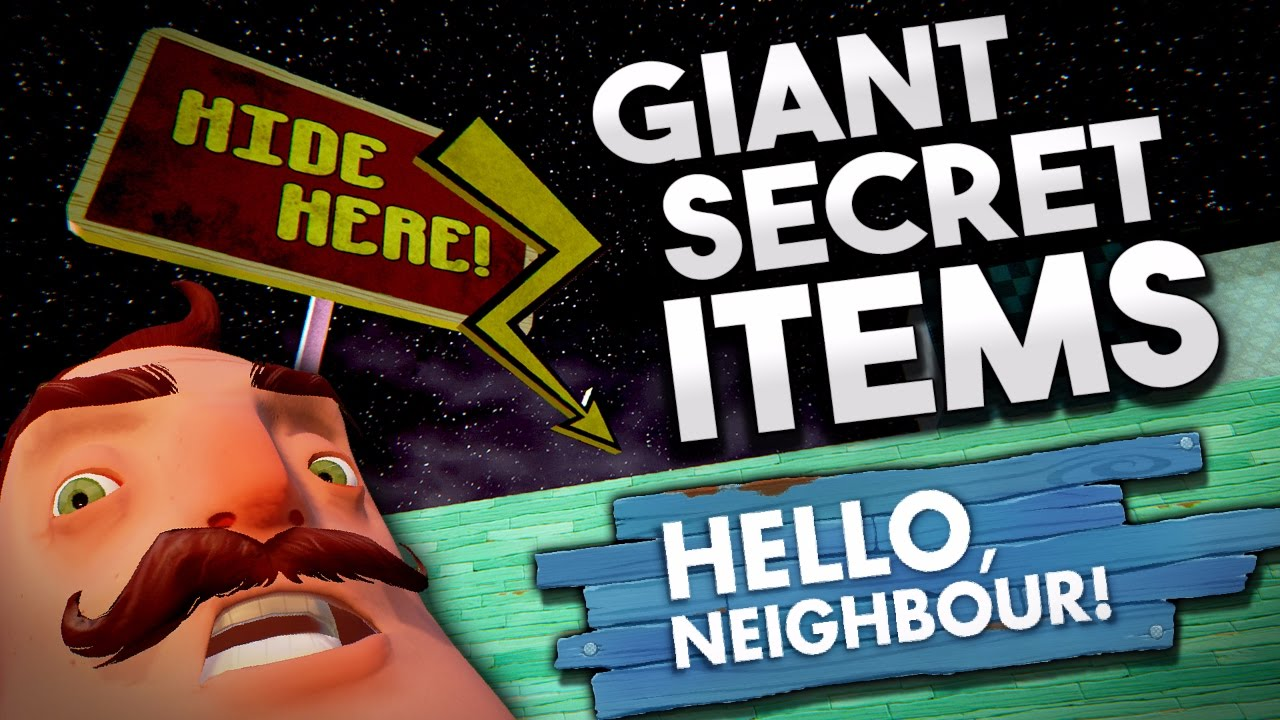 how to become giant in hello neighbor alpha 2