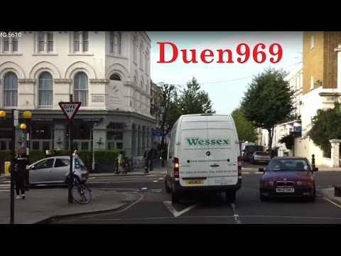 London Streets (541.) - Notting Hill - Ladbroke Grove - Westway - Uxbridge